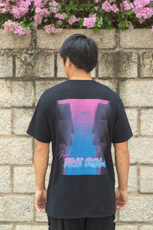 Project Dive Roll T-shirt Back
